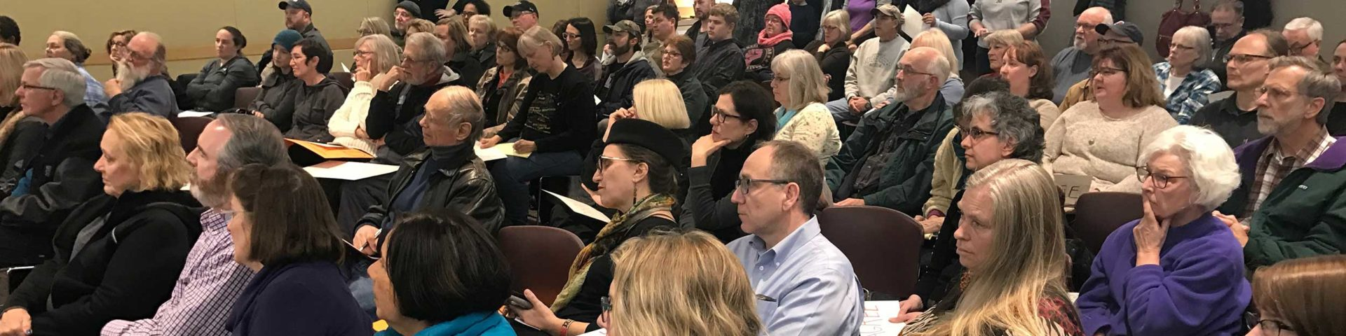 Eagan town hall without Jason Lewis
