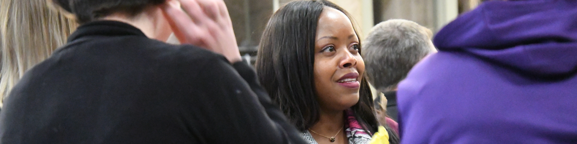 Renita Fisher holds forum on race relations