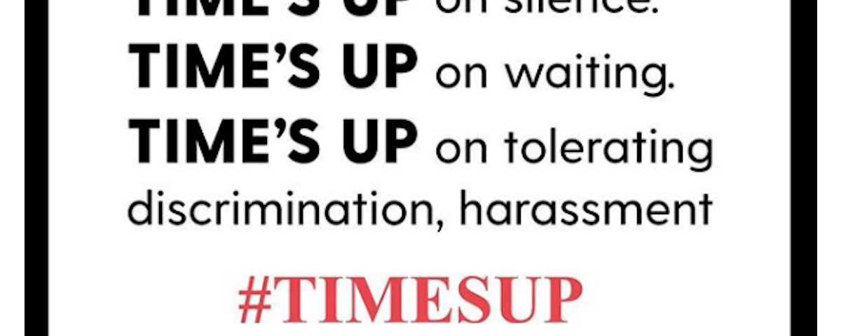 Time's up poster