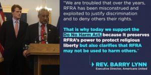 H. R. 1450, Do No Harm Act.