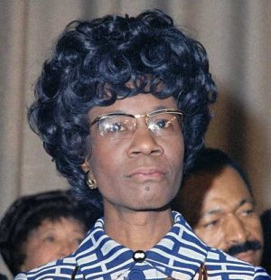 H. R. 1968, Shirley Chisholm Congressional Gold Medal Act.