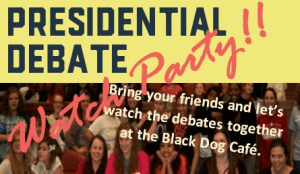 Presidential Debate Watch Party @ Black Dog Cafe, St. Paul | Saint Paul | Minnesota | United States