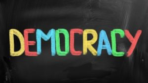 H. Res. 513, Recognizing the vital importance of democracy in the United States and encouraging State and local governments to aide citizens in reflecting on the contributions of democracy to a more free and stable world.