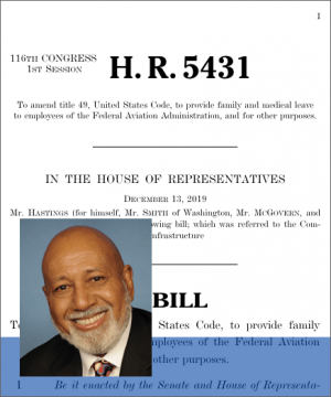 H. R. 5431, FAA Family and Medical Leave Act.