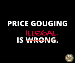 H. R. 6472, To prohibit price gouging in connection with the public health emergency resulting from COVID-19, and for other purposes.