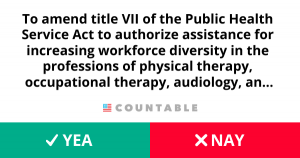 H. R. 3637, Allied Health Workforce Diversity Act of 2019.