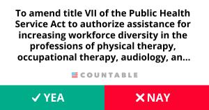 H. R. 3637, Allied Health Workforce Diversity Act of 2019.