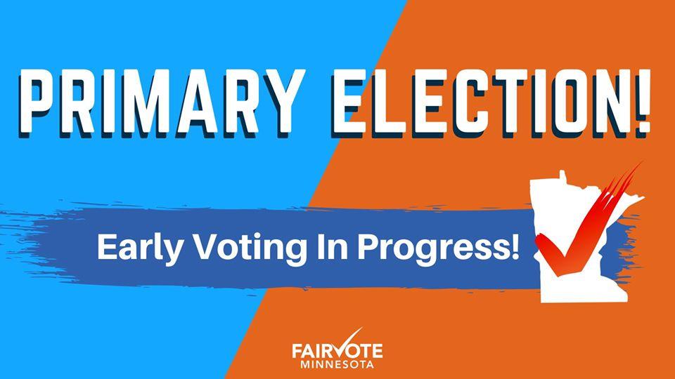Minnesota Primary Election!