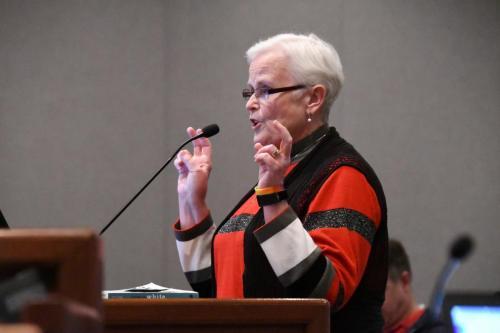 Thea Harriday, school district mom.