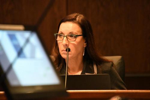 Lakeville School Board Member Judy Kelliher.