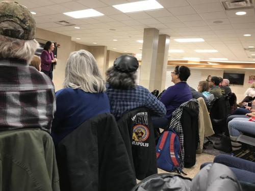 Rep. Angie Craig Town Hall #1 – Burnsville