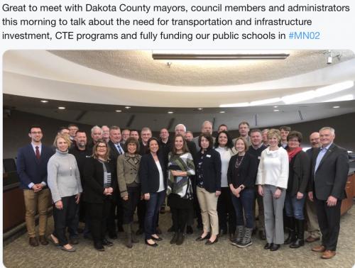 Dakota County - Infrastructure Discussion