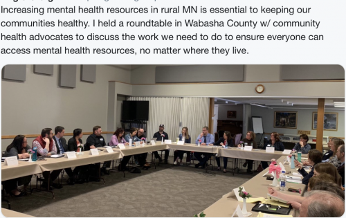 Wabasha - Mental Health Resources Discussion