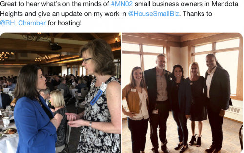 Mendota Heights - Meeting Small Business Owners