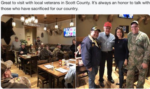 Scott County - Visiting Veterans