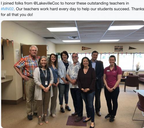 Lakeville - Honoring Teachers