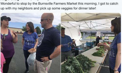 Burnsville - Out Meeting Neighbors