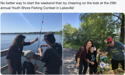 Lakeville - Youth Fishing Contest