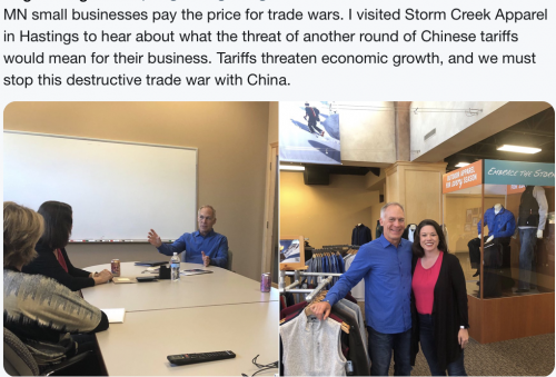 Hastings - Visiting a Small Business