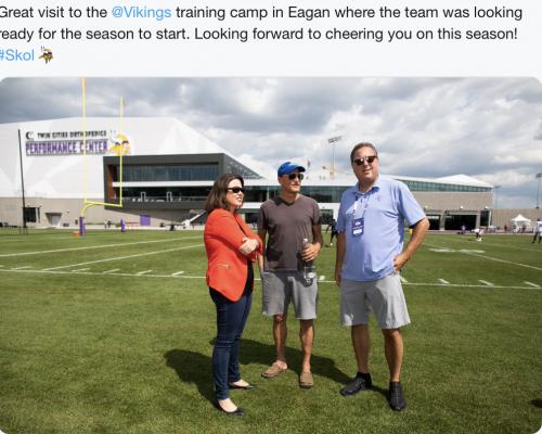 Eagan - Tour Vikings Training Facility