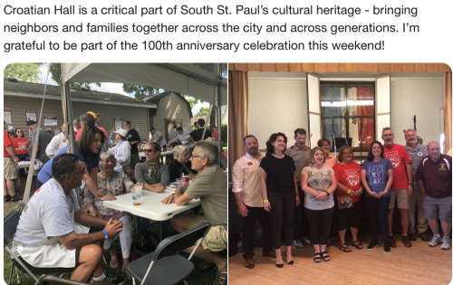 South St. Paul - Croation Hall 100th Anniversary