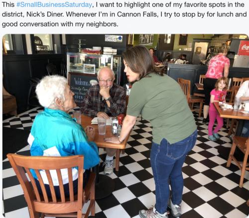 Cannon Falls - Small Business Saturday