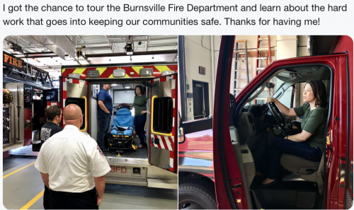 Burnsville - Fire Department Tour