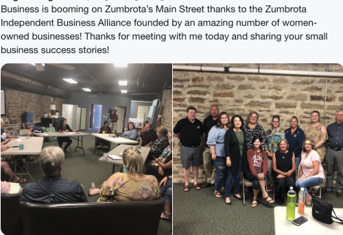 Zumbrota - Small Business Discussion