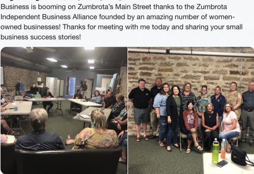 Zumbrota - Small Business Discussion