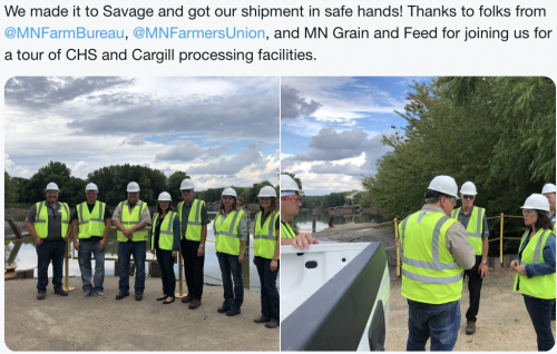 Savage - Understanding Grain Shipping Process