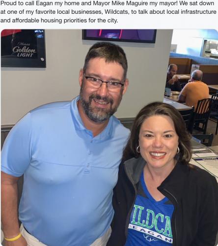 Eagan - Mayoral Visit