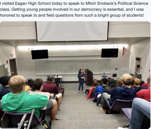 Eagan - High School Visit/Discussion