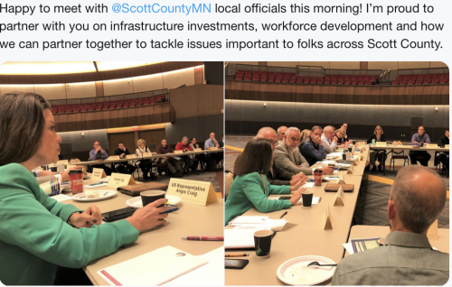 Scott County - Partnering with County on Important Issues