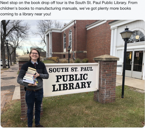 South St. Paul - Staff, Book Drop Off