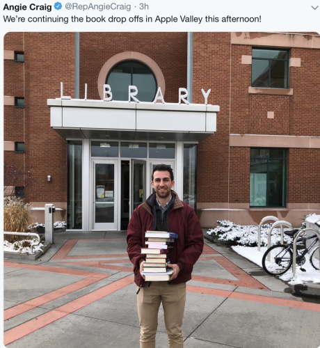 Apple Valley - Staff, Book Drop Off