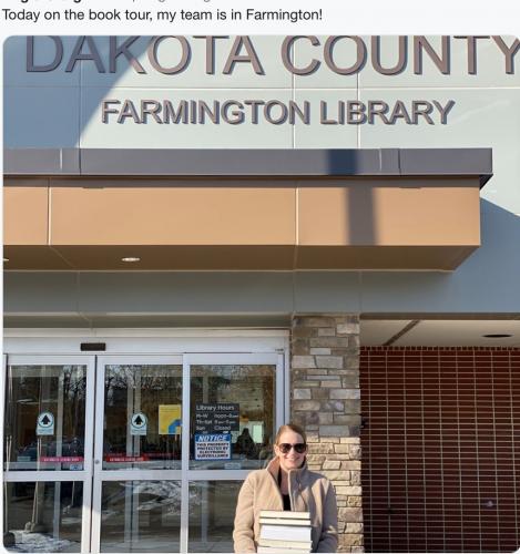 Farmington - Staff Book Drop Off