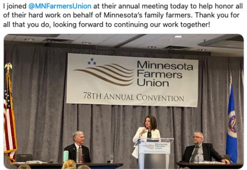 MN Farmers Union Annual Meeting