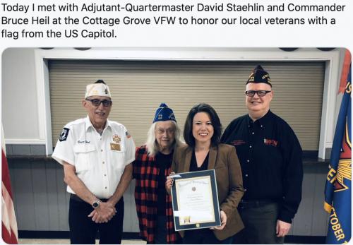 Cottage Grove - Honoring Veterans