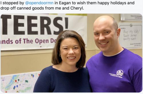 Eagan - Open Door Donation