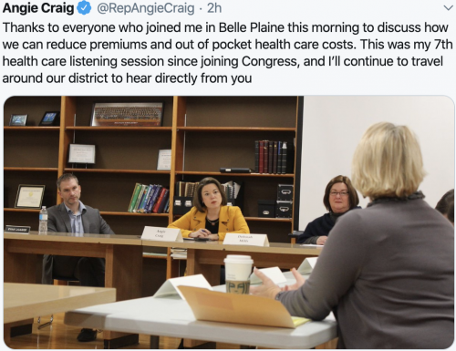 Health Care Discussion in Belle Plaine