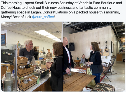 Small Business Saturday - Eagan