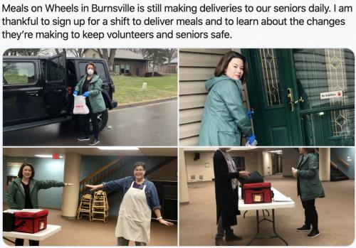 Burnsville - A shift at Meals on Wheels