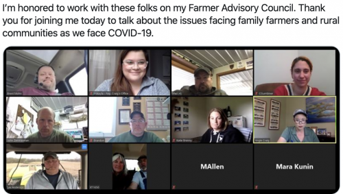 Remote Listening to Farming Community