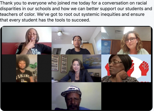 A conversation on racial disparities in our schools