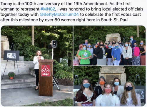 Recognizing the 100th anniversary of the 19th Amendment