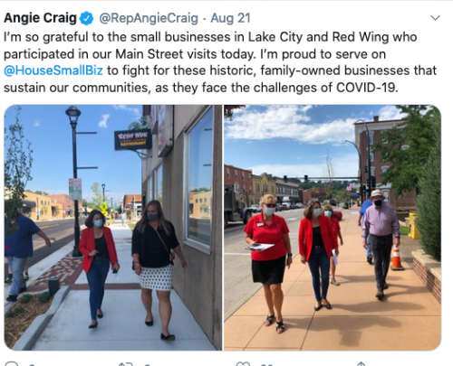 Lake City and Red Wing
