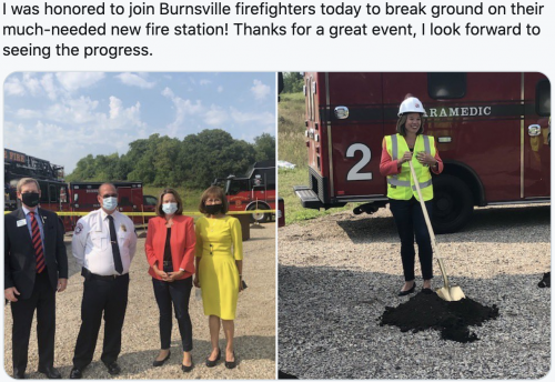 New fire station in Burnsville