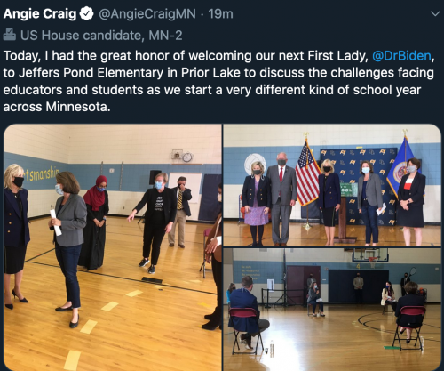 Prior Lake with Jill Biden