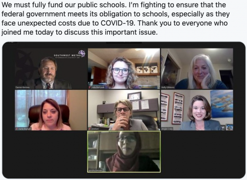 Public school funding discussion