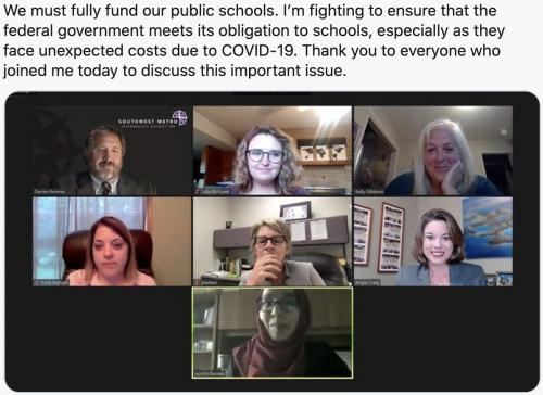 Public school funding discussion